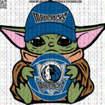 Baby Yoda with Basketball