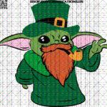 Baby Yoda St Patrick's Day