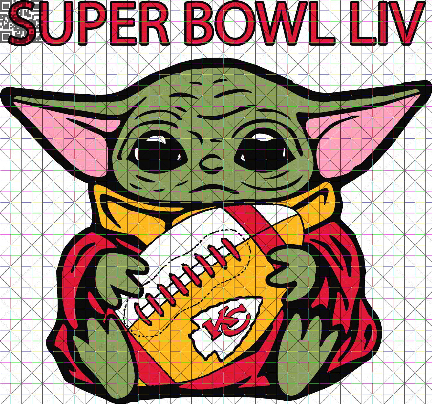 Baby Yoda Kansas City Chiefs Game Day | | Kustom Kreations