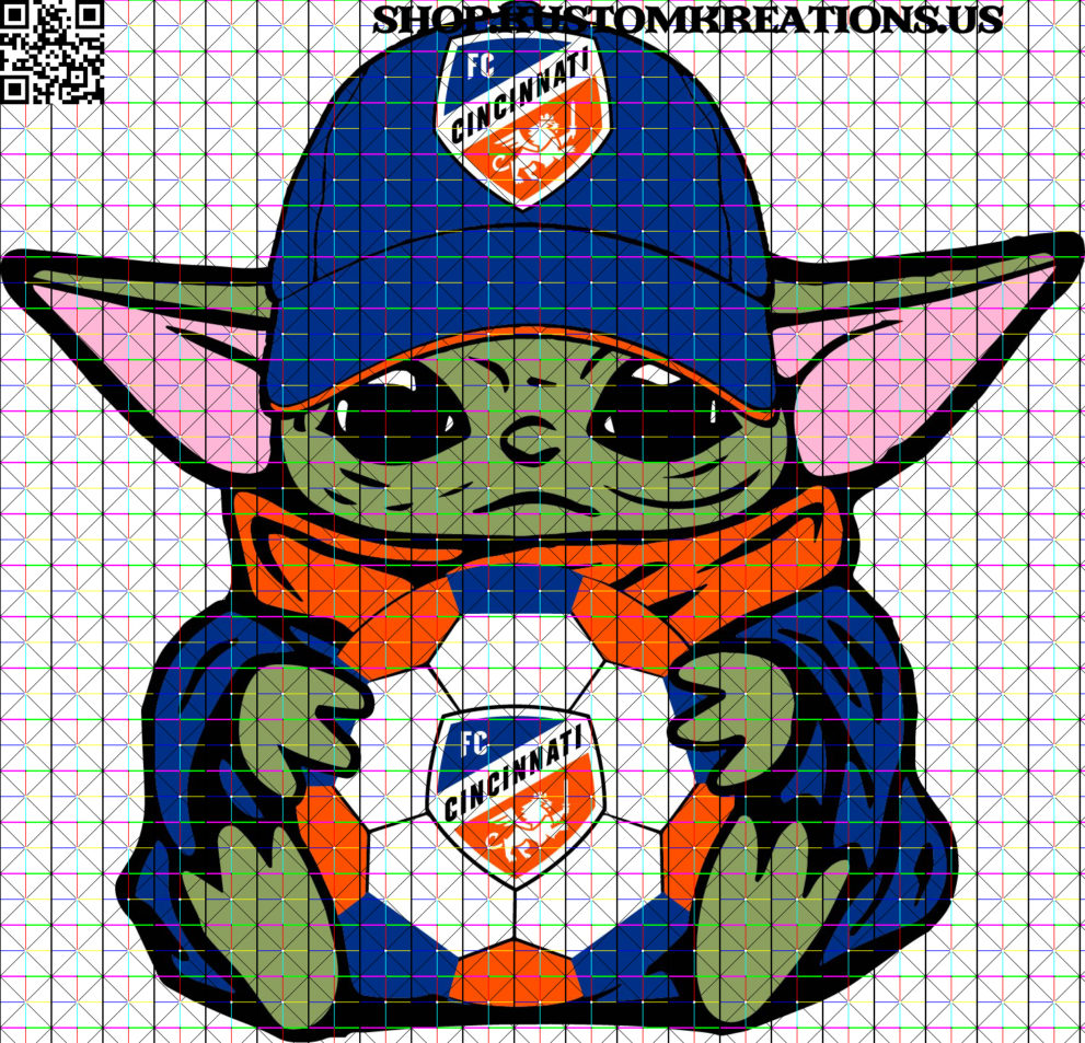 This is a SVG image of Baby Yoda with FC Cincinnati Soccer Ball. #BabyYoda, #SVG, #Starwars, #Sublimation, #TheChild, #KustomKreationsus, #png, #disney, #fccincinnati, #cincinnati, #fccincy, #mls, #soccer, #igniteandunite, #fccgivesyouwins, #achieveanything, #goals, #soccerseason, #soccernews, #mlsherewecome, #trophies, #fcc, #futbol, #orangeandblue, #season, #risetogether, #jointhemarch, #mlscincy, #strongereveryday, #team, #mlschampions, #workhard, #fccwillwin, #comeonyoufcc, #win, #cincyigers, #cincinnatireds, #bhfyp
