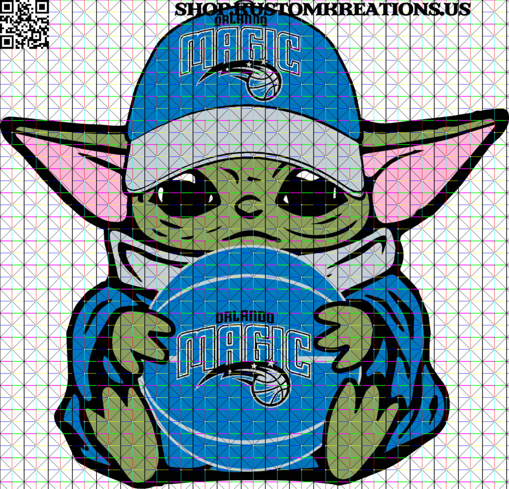 This is a SVG image of Baby Yoda with Orlando Magic Basketball. #BabyYoda, #SVG, #Starwars, #Sublimation, #TheChild, #KustomKreationsus, #png, #disney, #orlandomagic, #nba, #orlando, #magic, #basketball, #downtownorlando, #orlandoflorida, #ucf, #orlandocity, #pennyhardaway, #shaquilleoneal, #aarongordon, #k, #nikolavucevic, #florida, #orlandobarber, #puremagic, #barbering, #barbershopconnect, #orlandofl, #sports, #tracymcgrady, #barberlife, #dwighthoward, #scottskiles, #haircut, #haircuts, #chicagobulls, #horacegrant, #bhfyp ***All copyrights and trademarks of the characters or logos used belong to their respective owners and are not what is being sold. I do not claim ownership over the characters or logos used in this design. You are only paying for MY time to create the SVG image. These items are not licensed products and all images of characters or logos used in the designs are free and not being sold. Please do not share, redistribute or sell the file. ***