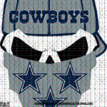 This is a SVG image of a Cowboys Skull with hat and bandana. #cowboys #nfl #dallascowboys #dallas #football #cowgirls #cowboysnation #cowboy #dc #americasteam #rodeo #texas #countrylife #dakprescott #amaricooper #country #life #rdr #l #western #wedemboyz #reddeadredemption #zeke #gocowboys #superbowl #horses #cowgirl #cowboysfans #ezekielelliott #bhfyp #sublimation #png #kustomkreationsus #htv #cameo #cricut